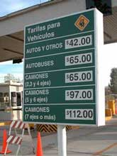 mexican toll roads from the peoples guide to mexico