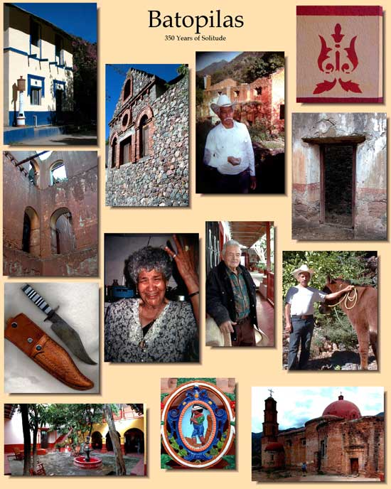 Batopilas Photo Collage