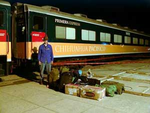 "Doug Havens wonders: ""Is this train big enough for my luggage?"""